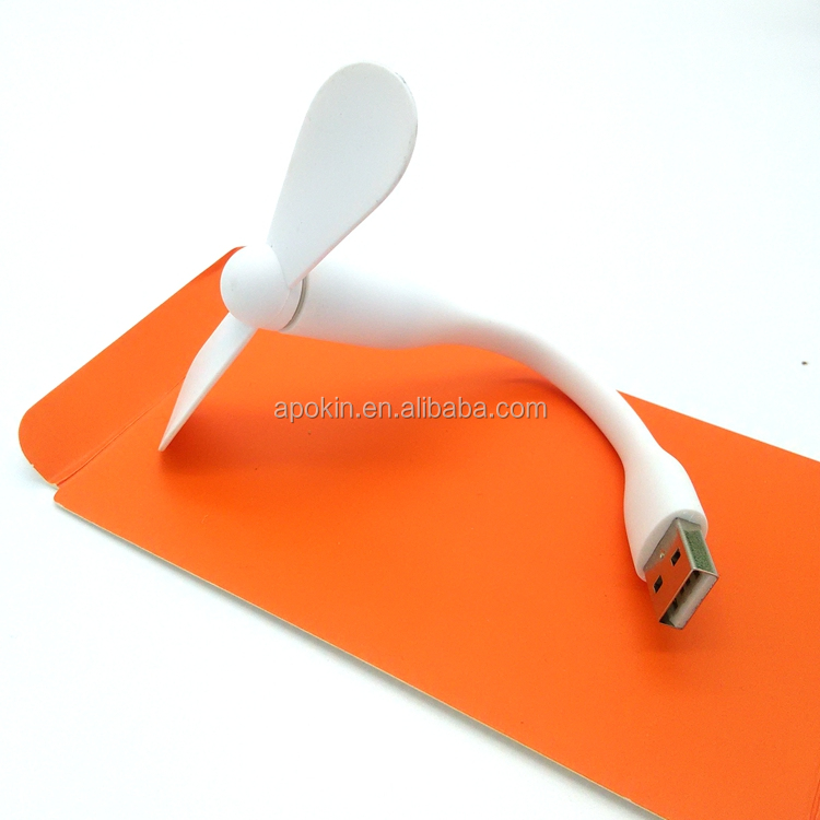 Portable CE ROHS custom logo mini usb fan for promotional gift