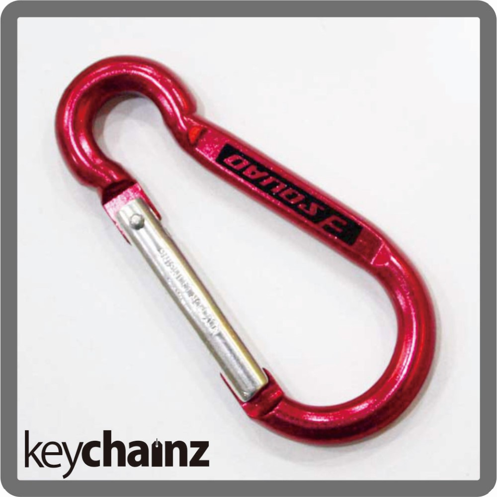Bottle opener carabiner keyrings with custom logo engraved for Designer carabiner