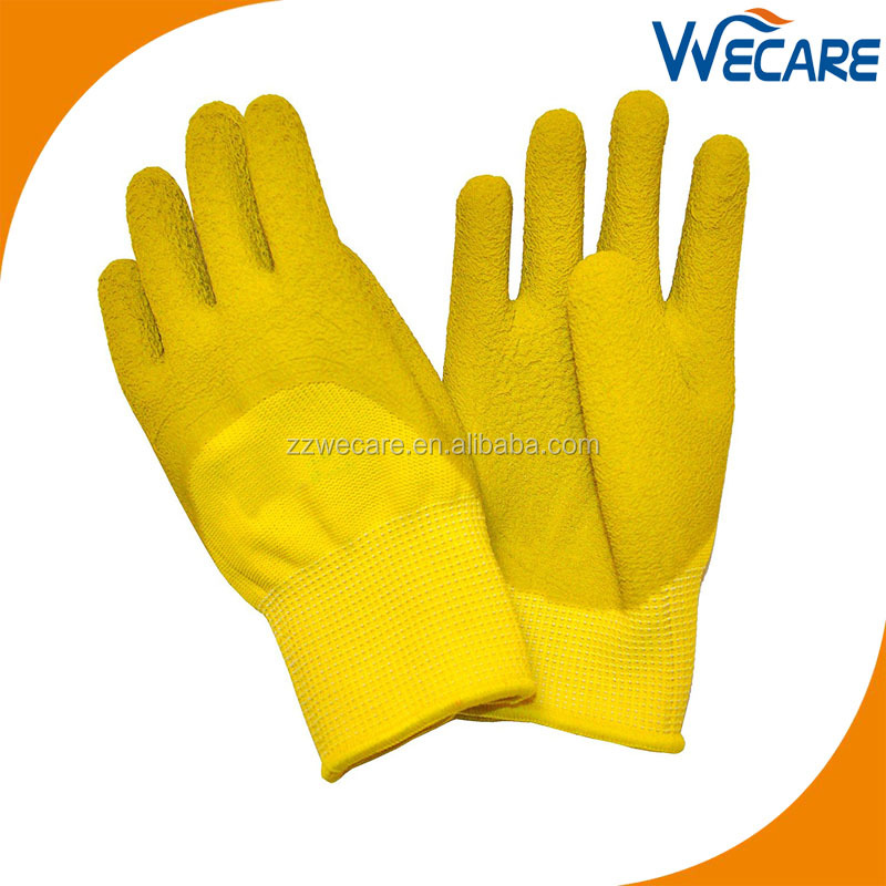 Premium MicroFoam Texture Coated Kids Garden Gloves Kids Work Gloves