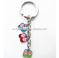 zinc alloy material cheap cost promotional blank metal keychains,custom made metal keychains,metal keychain with card shape