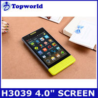 H3039 MTK6515 Android 2.3 smart phone 4.0 inch TFT 800*480 WVGA Multiple Languages