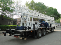 hot sale ! HFT-350B Truck Mounted drilling machine for water