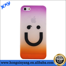For iPhone 5 Smile face plastic cellular case alibaba express