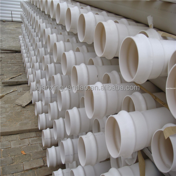High pressure mm pvc well casing pipe buy