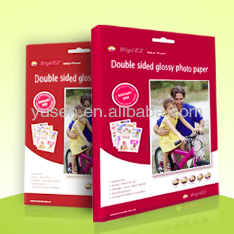 Factory Sell 220g Double Side High Glossy Inkjet Photo Paper
