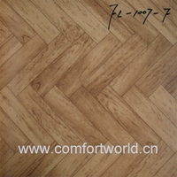 pvc sponge flooring used indoor bamboo pattern