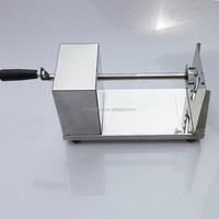 Manual spiral vegetable potato slicer /curly fries machine