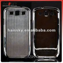 2012 for new arrival metal chrome hard cases cover for Samsung Galaxy SIII S3 I9300