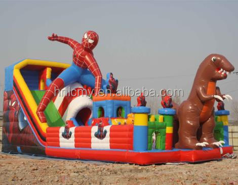 Best selling jumping inflatable children amusement park equipment