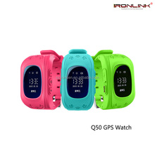 Hot selling Q50 Kids GPS Smart Watch GPRS GSM GPS Location Anti-Lost wristwatch for Android and IOS