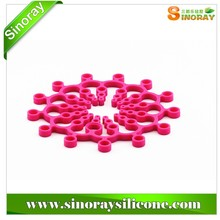 HOT selling silicone pot mat,silicone folding trivet