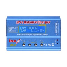 New iMAX B6 charger LCD Screen Digital RC LiPro Battery charger drone camera xiaomi yi sjcam car dvr Balance Charger Imax B6AC