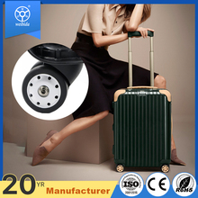 2017 best price luggage trolley accessories suitcase wheels