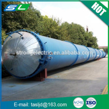 2016 good quality brick concrete chemical autoclave with pressure vessel parts