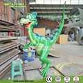 Playground Cartoon Statue Fiberglass Dinosaur