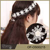 Silver Plated Crystal Rhinestone Bridal Headband Tiara Hair Band Jewelry