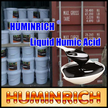 Huminrich Best Organic Fertilizer Black Peat Moss-Potash Humate Liquid Fertilizer