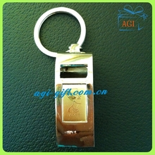 Egypt feature souvenir whistle keychain custom metal key ring