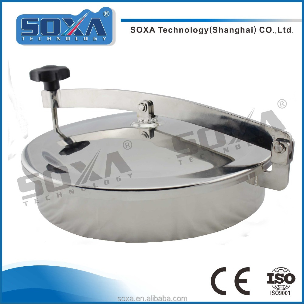 Sanitary Stainless Steel manhole cover without pressure