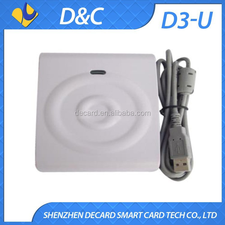 Portable Smart Card Reader For Contactless IC Card
