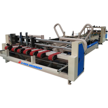 carton machinery , folding and gluing machine for corrugated carton box