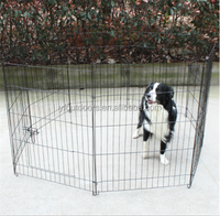 Hot sale outdoor folded portable expandable dog kennels