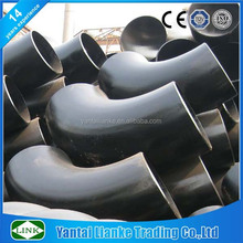 90 degree sch40 long radius a234 wpb galvanized steel elbow r=1.5d