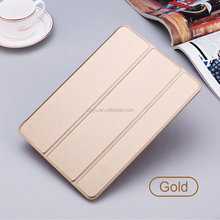 China Factory Hot Selling Leather Case 2017 Ultra Slim Lightweight Back Stand Case For iPad 10.5 Inch