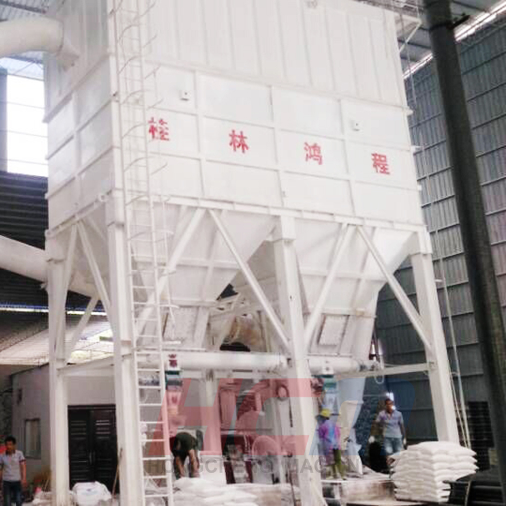 gypsum powder making machine in Iran / powder production line for barite buyer / grinding machines for sale