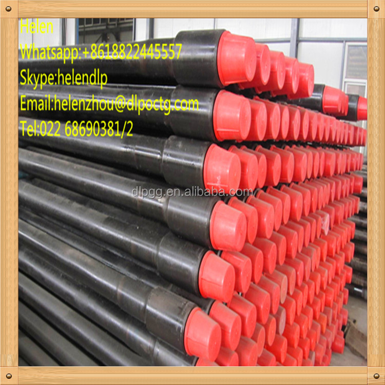 Tianjin Wholesale Manufacturer Price Geothermal Well API 5DP Thread Grade G105 Steel Water Well Drill Pipe