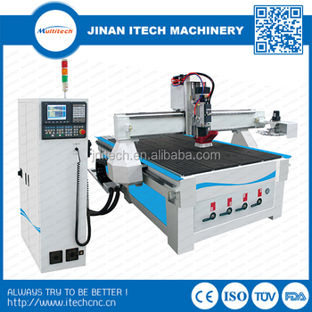 Woodorking China router machine with auto tool changer