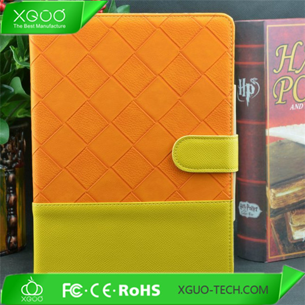 Braided lines patterns for leather ipad air smart cover