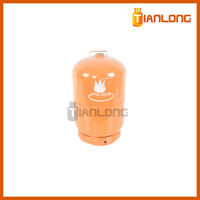 5kg portable propane gas lpg bottle for residents