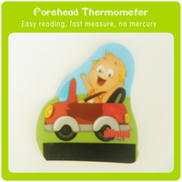 Custom cartoon design for kids China manufacturer directly lcd fever scan thermometer /forehead thermometer strip