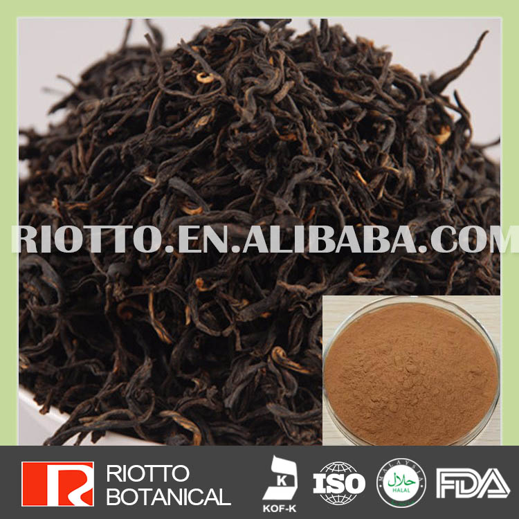 100% water soluble bio black tea extract