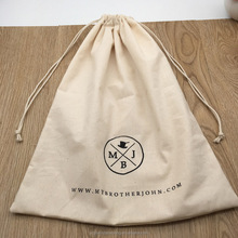 Cotton Drawstring Bag For Cap