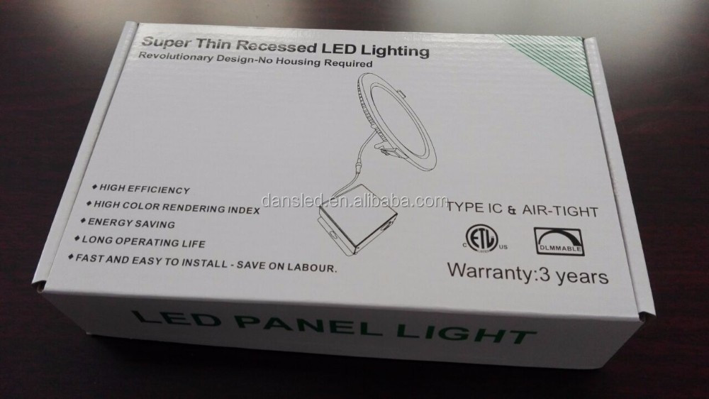 ETL CETL UL CUL Energy Star dimmable 4 inch 9W 720 lumen recessed lighting kits