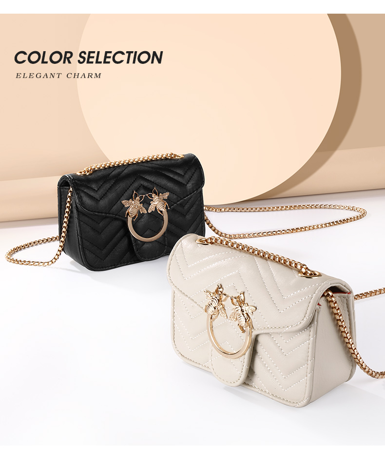 Online Shopping Lady Girl Clear PU Leather Bag Handbag for Women