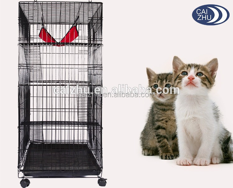 Larger Stainless Steel hot sale folding metal dog crate pet cage