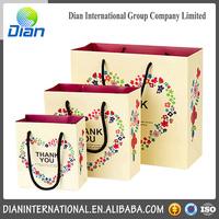 New Design Customized Gift Paper Bag Fashion Bag