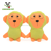 Cotton Linen Oxford Strong Durable Squeaker Monkey Dog Toys Squeak Toy for Dog Play