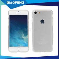 Factory Price High Crystal Transparent TPU Mobile Phone Cover Case For Iphone 7 / 7 Plus