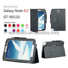 Stand leather case for samsung galaxy note 8.0