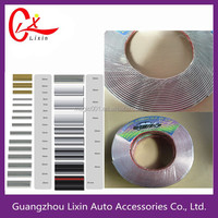 12mm*5m or Customize Mould Factory Chrome Car Moulding Trim Tape Wheel Trim