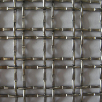 Stainless steel decorative wire gauze square mesh