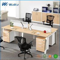 Good price new design wooden office table and chair / office table models
