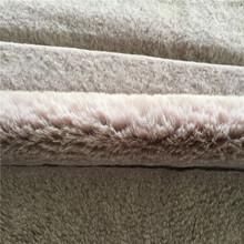 Light Purple PV Velvet Rabbit Cutting Gap Textile Faux Fur Fabric for Garment Toy Alibaba China Cheap Fake furs