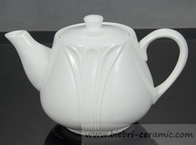 Wholesale Antique White Color Porcelain Coffee And Tea pots For Hotel And Restaurant