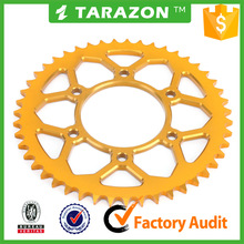 47 T rear 7075 aluminum motorcycle chain sprocket for Yamaha r15