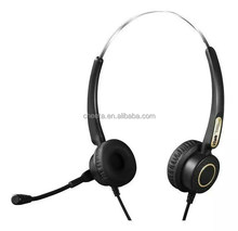 Newest high quality clear voice noice canceling call center computer headset